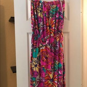 Lilly Pulitzer XS strapless dress